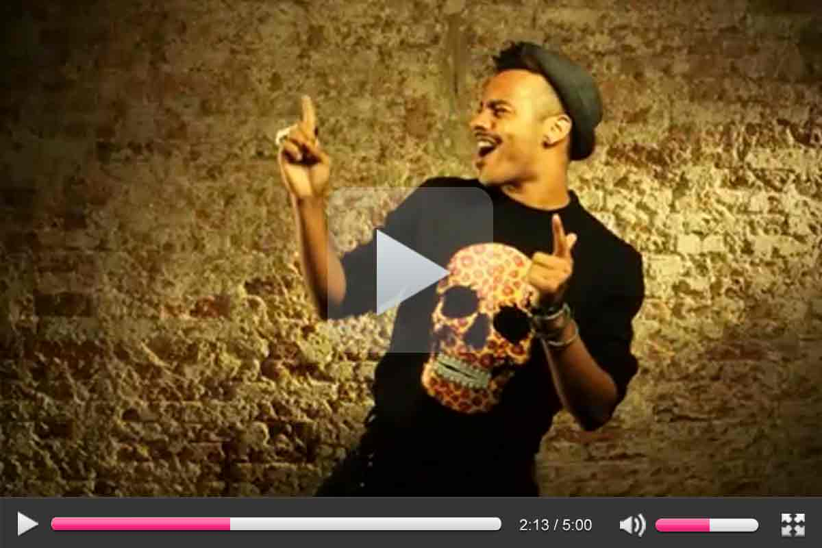 PINS 'Leopalicious' and 'Lucy Marylin' sweatshirts featured in Aggro Santos video - Stamina