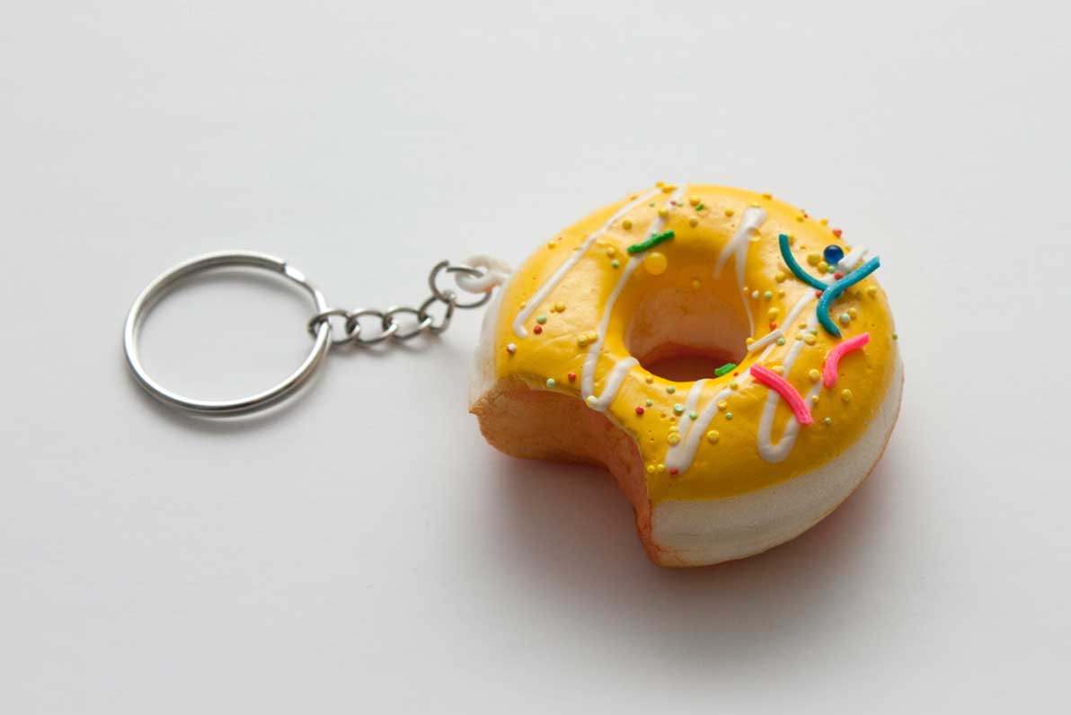 Pinspired Accessories - Small Donut Keyring