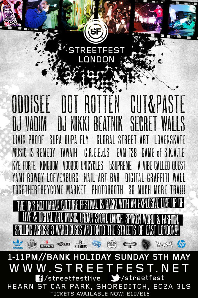 streetfest poster