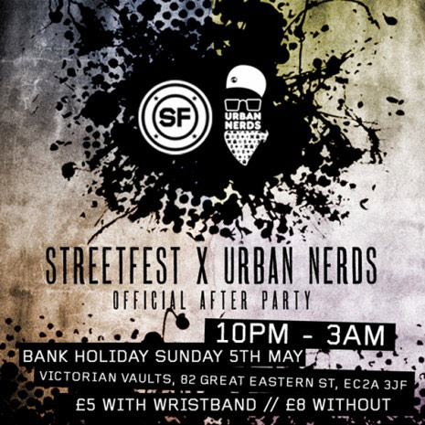 streetfest and urban nerds afterparty