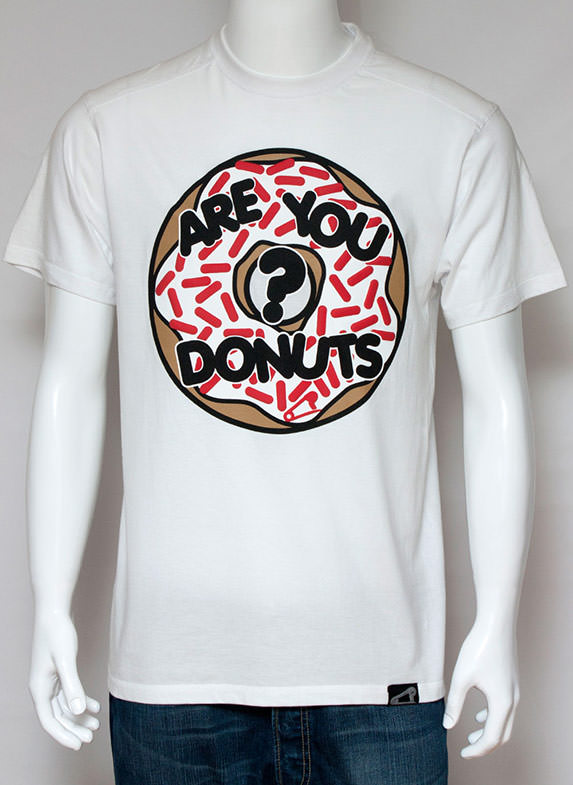 Are You Donuts? T-shirt white