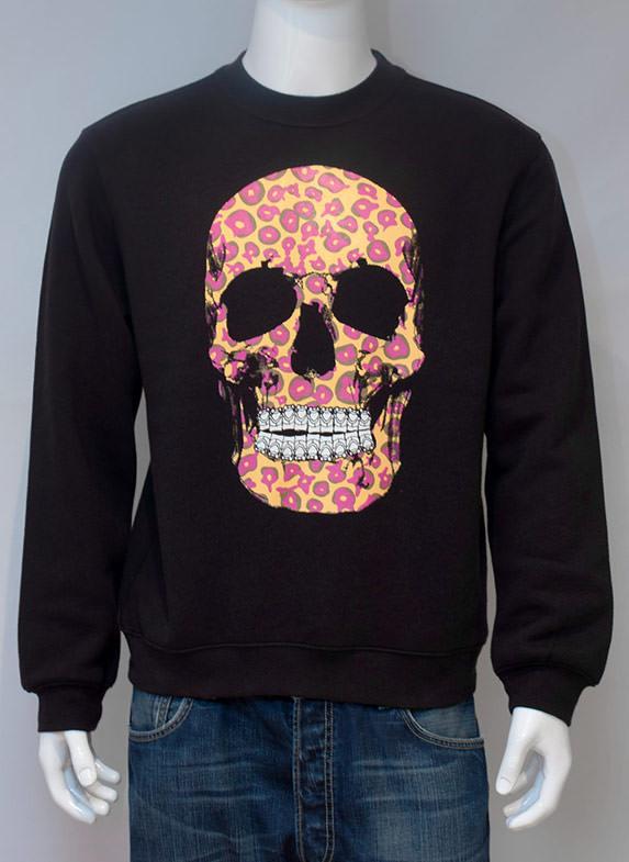 Leopalicious Black Sweatshirt