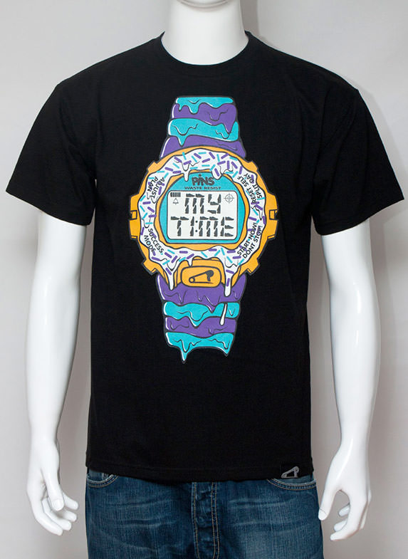 My Time T-Shirt Black