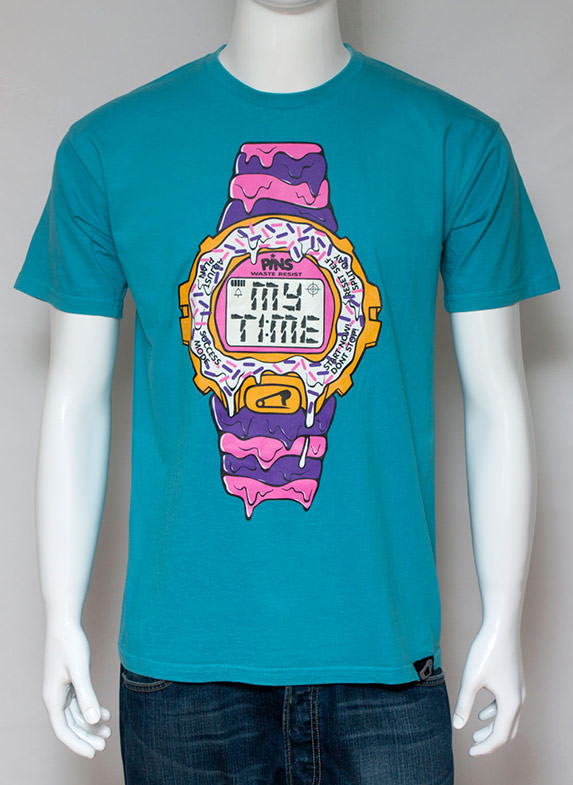 My Time T-Shirt Turquoise
