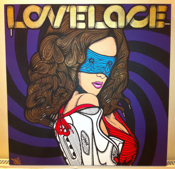 pins linda lovelace canvas
