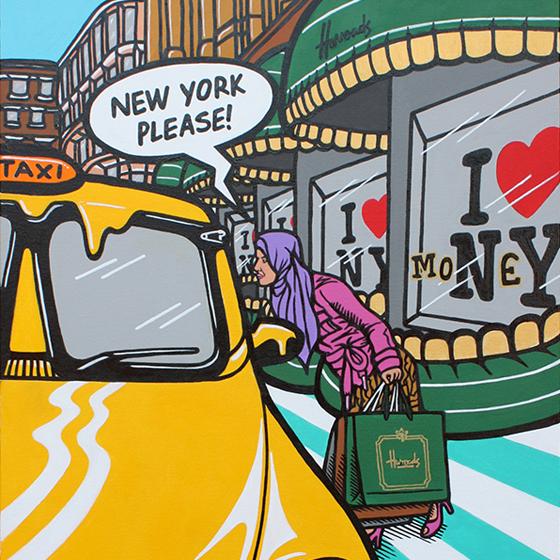 Harroad To New York