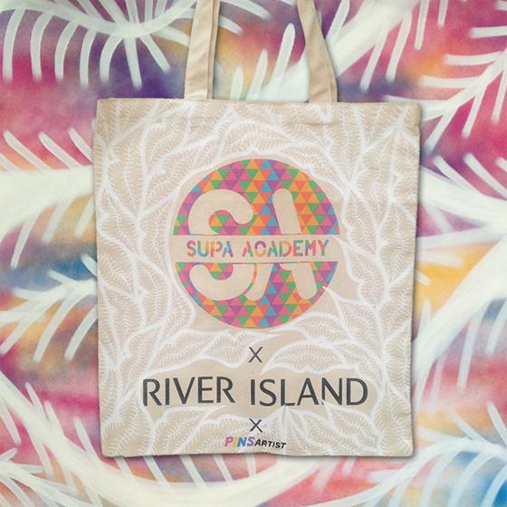 River Island & Supa Academy