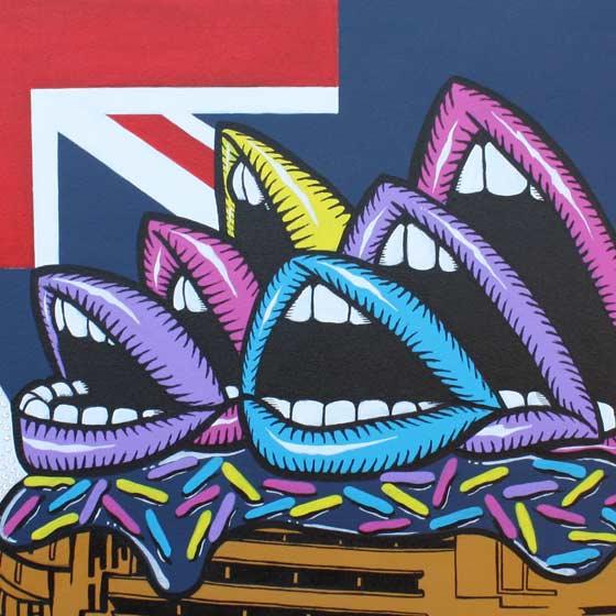Sydney Opera Mouths