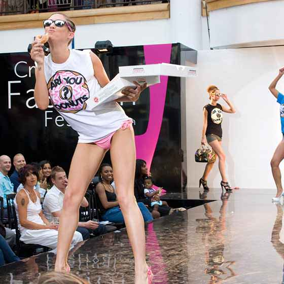 Are You Donuts at Croydon Fashion Show