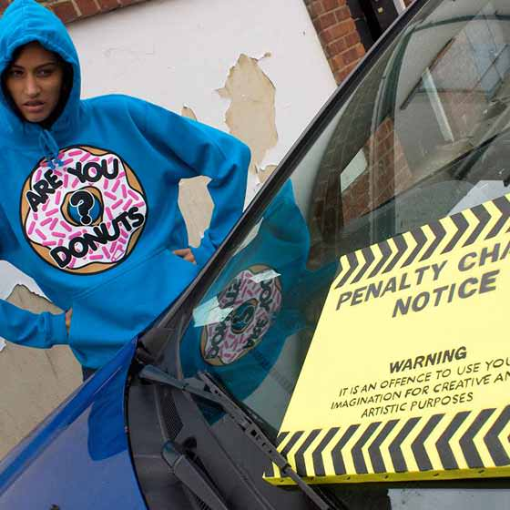 Parking Ticket? Are You Donuts?