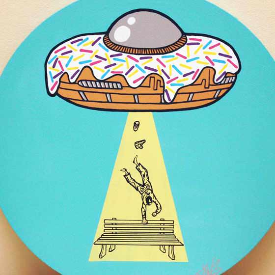 UFD - Unidentified Flying Donut