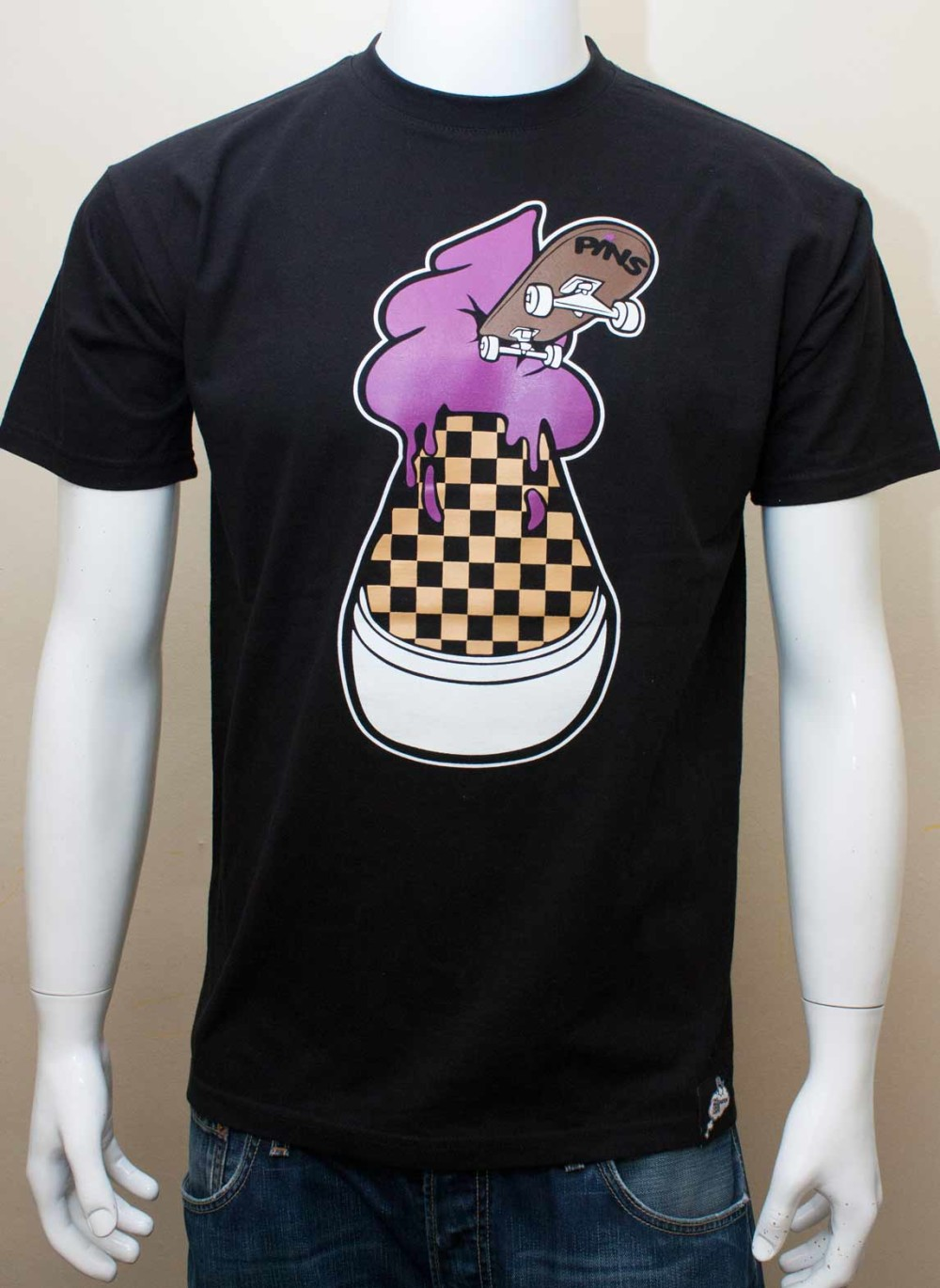 Ice Cream Vans Black T-shirt