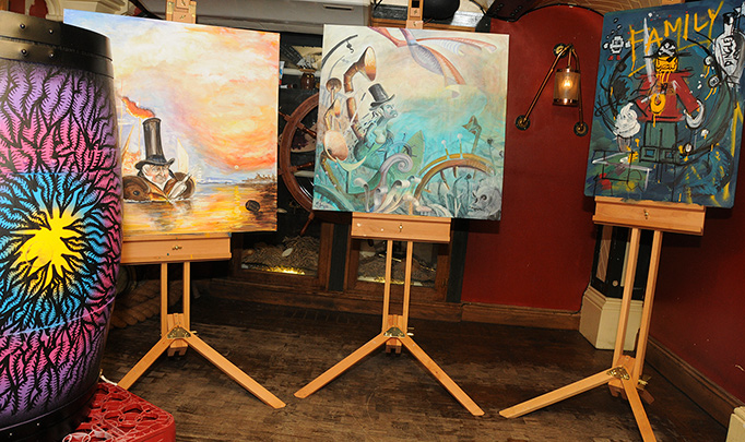 Turner Art Porterhouse