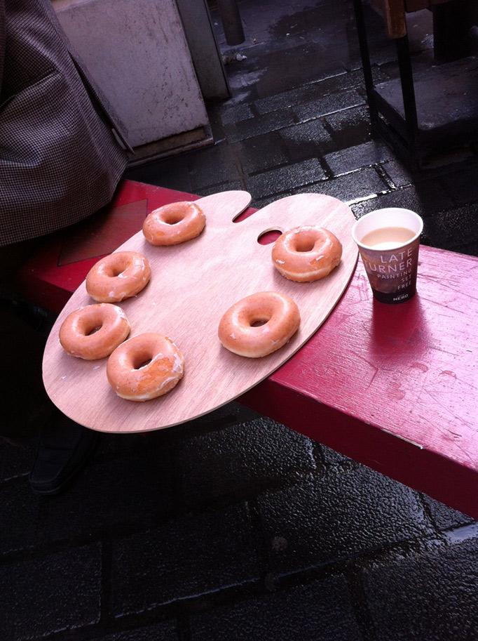 Krispykremes Caffe Nero Turner