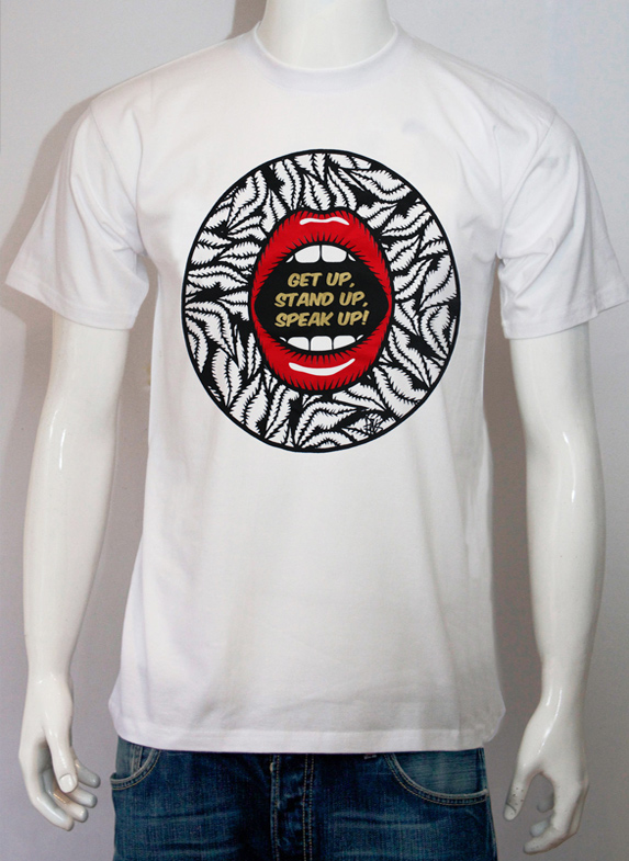 save brixton arches white t-shirt