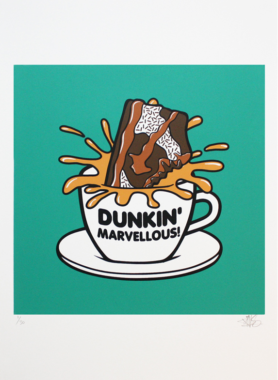 dunkin marvellous cuppapins nike dunk chocolate