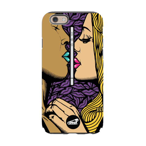 nofacelikephone kissing phone case lips pins