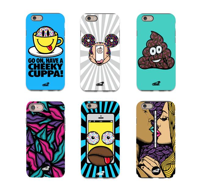 nofacelikephone pins artist phone case range