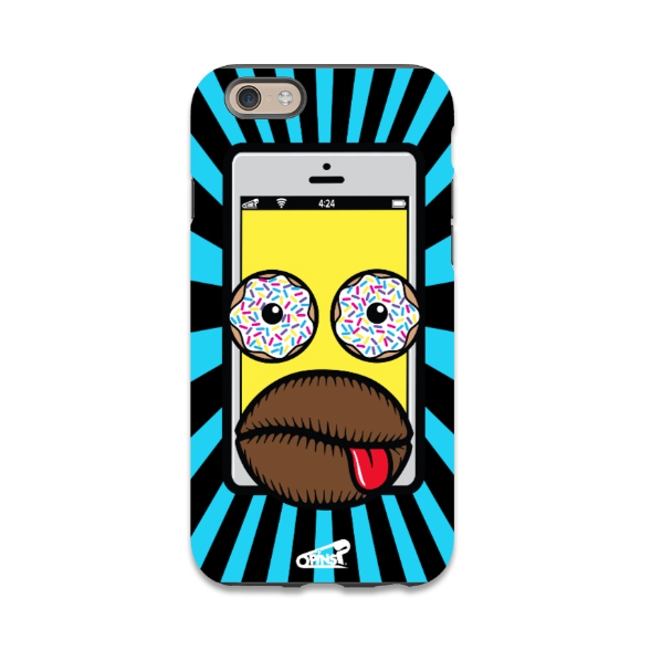 iDoh homer simpson donuts phone case