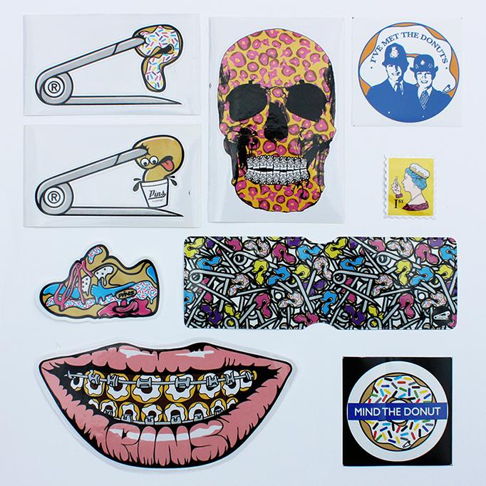 PINS Super Sick Sticker Pack