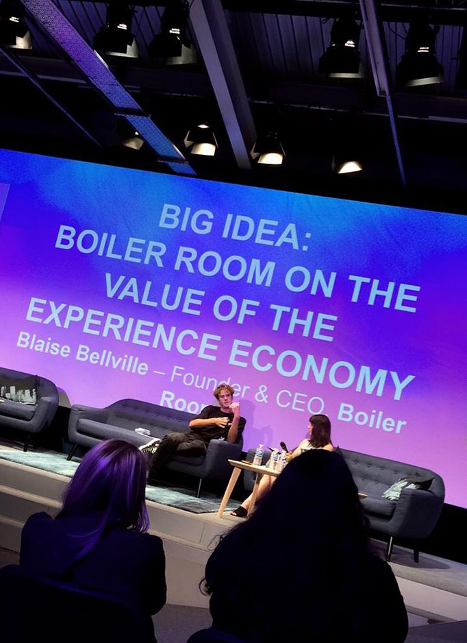 Blaise Bellville Boiler Room Talk Unbound Tech Festival