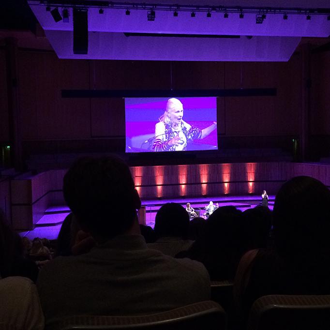 Vivienne Westwood Talk Southbank Centre