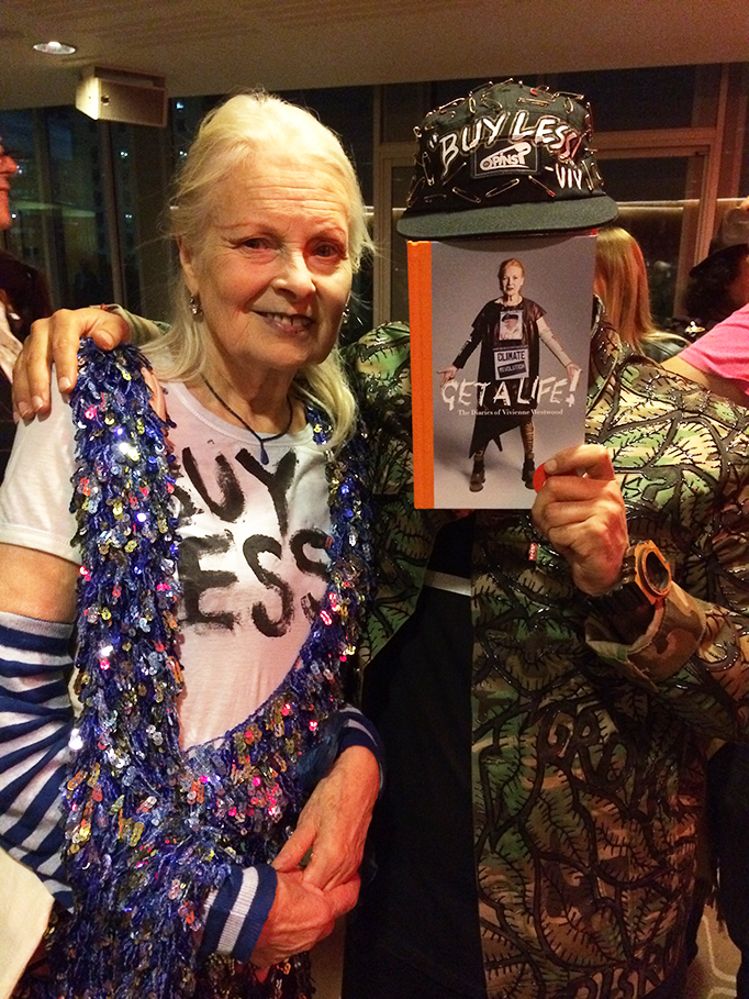 GET A LIFE! – VIVIENNE WESTWOOD TALK AT SOUTHBANK CENTRE