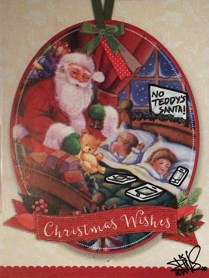 SANTA TEDDY CHRISTMAS